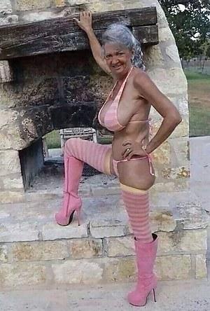 Boobs pics granny GRANNY NAME