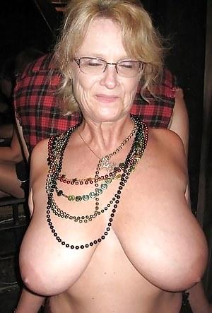 Tits pics granny Granny big