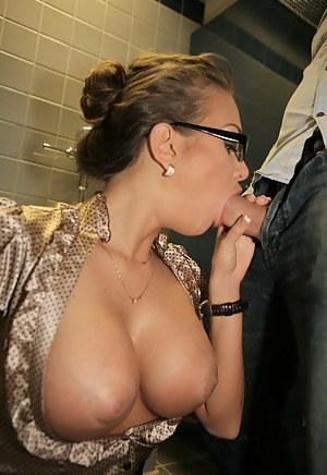 Big Tits Toilet Porn Pictures